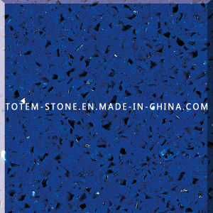 Solid Surface Engineering Blue Quartz Crystals for Kitchen Countertop, Tile pictures & photos