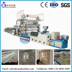 China Manufacturer PVC Faux/Artificial Marble Wall Panel Making Line pictures & photos