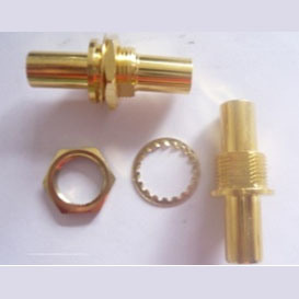 3.5mm Stereo Female to Female Connector (1053) pictures & photos