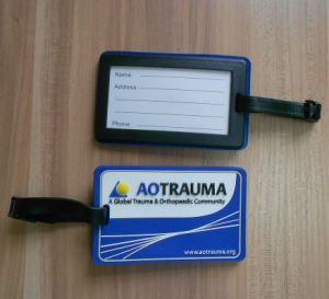 3D Soft PVC Luggage Tag with Custom Logo (ASNY-JL-LT-13090502) pictures & photos