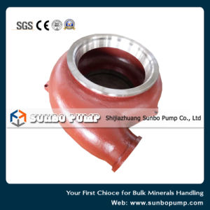 High Chrome Alloy Wear Resistance Centrifugal Slurry Pump Spare Parts Back Liner Frame Plate Liner Insert pictures & photos