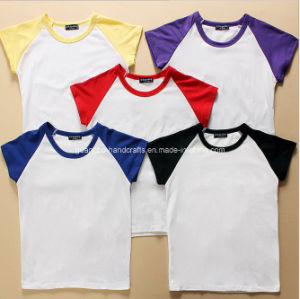 Custom Cheap Wholesale 100% Cotton Promotional T Shirt Manufacturing pictures & photos