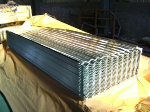 Aluminum Zinc Steel Roofing Sheet 0.14-0.6mm*820-1060mm pictures & photos