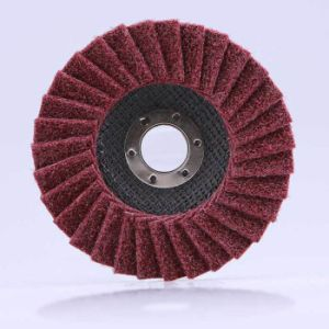 Non Woven Flap Disc for Aluminum