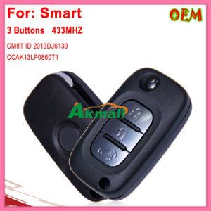 Remote Key for Benz Smart 3 Buttons 433MHz Pcf7961m Twb1g767 pictures & photos