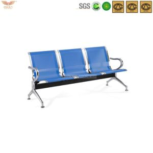 Hot Sale Visitor Chair Metal Waiting Chair with Arm pictures & photos