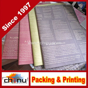Customized Printing Warpping Paper (4136) pictures & photos
