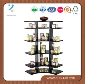 "Customized 3"" Tall Wooden Arc Shaped Counter Display Stand pictures & photos"