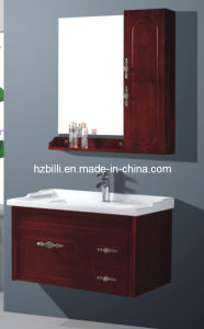 Wall Mounted Oak Bathroom Vanity China