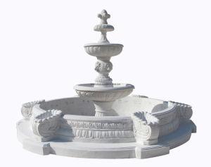 White Marble Pool Fountain (XF954) pictures & photos