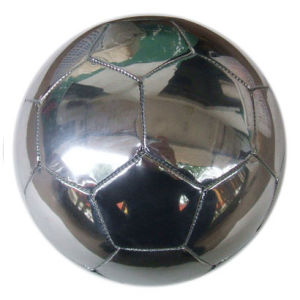 Soccer Ball, 32panels, Mirror Metallic PVC, Machine-Stitching (B01311) pictures & photos