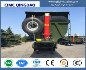 Cimc 2/3 Axles Tipper Semi Trailer for Sale pictures & photos