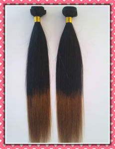 "Natural Straight Unprocessed Brazilian Hair Extension 20"" pictures & photos"