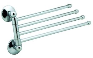Towel Rack, Adjustable Towel Bar, Shower Towel Bar (23974)