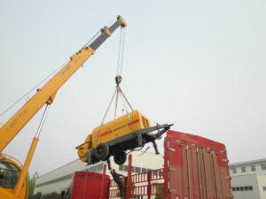 Trailer Mounted Concrete Pump (HBTS50-13-75)