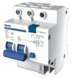Safety 2p Mini Residual Current Circuit Breaker