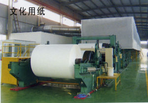1092mm Four Dryer Cans Double Wire Kraft Paper Machine pictures & photos