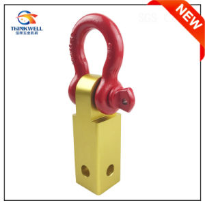 Aluminum Alloy Receiver Hitch D-Ring with 3/4-Inch Shackle pictures & photos