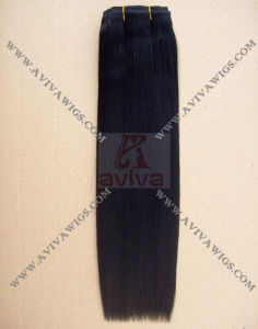 Natural Color Virgin Remy Human Hair Weft pictures & photos