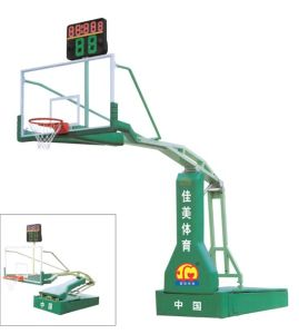 Physical Education-Hand-Operated Hydraulic Basketball Stand (JM-1003) pictures & photos