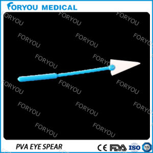 Ophthalmic PVA Eye Spear Sponge for Absorb Blood pictures & photos