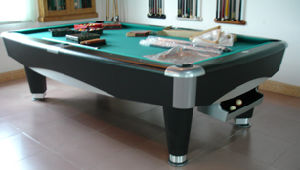 9FT Slate Pool Table (H-603 New Model) pictures & photos
