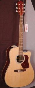 Folk Guitar-Cutway