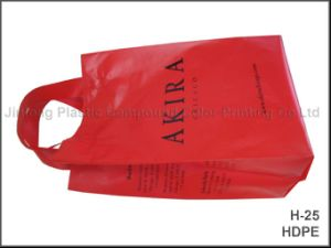 Plastic Shopping Bag with Handle pictures & photos