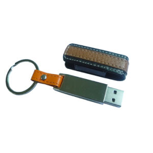 Leather USB Flash Drive (S-GF418)