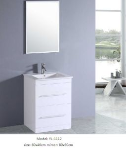 Sanitary Ware Home Furniture with Ceramic Basin Mirror pictures & photos