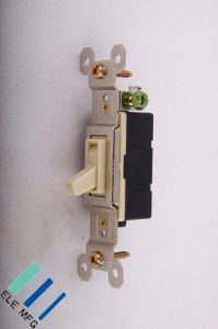 Single Pole Toggle Switch Grounding (15A, 125V)