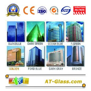 4, 5, 6, 8, 10mm Reflective Float Glass Coated Glass Used for Curtain Wall/Building, etc pictures & photos