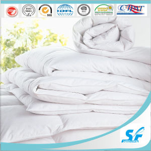 100% Polyester White Color Wool Comforter for Star Home pictures & photos