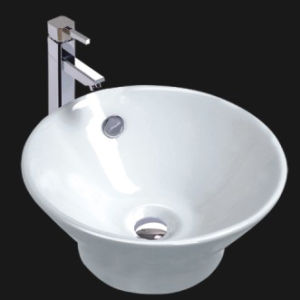 Porcelain Bathroom Vessel Sink (6070) pictures & photos