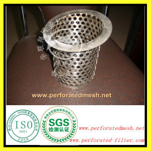 Manufacturer Perforated Metal Filter Basket with ISO Certificates