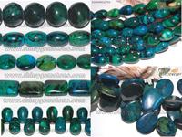 Chrysocolla Beads Gemstone Jewelry