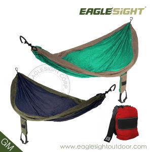 Parachute Nylon Hammock with Compression Straps Supplies