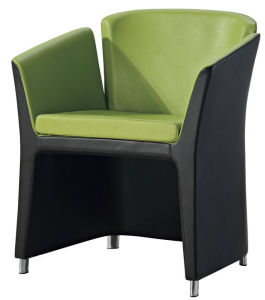 Vinyl Office Sofa Chair for Reception Area pictures & photos