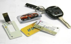 Card Flips Style USB Flash Drive (OM-P515) pictures & photos