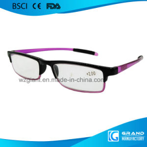Wholesale OEM Fashion Ultra Slim Soft Stip Adjustable Reading Glasses pictures & photos