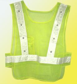 LED Light Reflective Jacket for Road Worker pictures & photos
