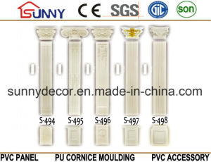 Modern European Polyurethane Roman Column PU Carved Design Column pictures & photos