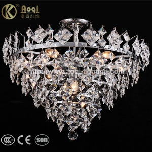 Hot Sale K9 Crystal Clear Pendant Light pictures & photos