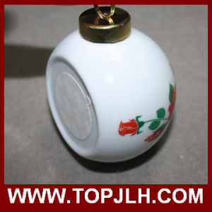 Sublimation Photo Transfer Printing Christmas Ball Ornament pictures & photos