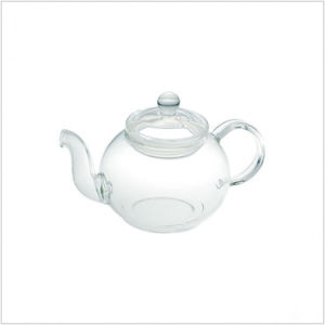 Glass Teapot Tea Pot with Stainless Steel Infuser 350ml pictures & photos