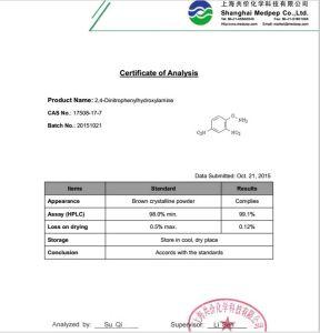 2, 4-Dinitrophenylhydroxylamine [17508-17-7] pictures & photos