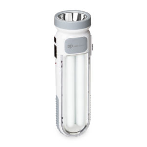 Painted White LED Rechargeable Emergency Light pictures & photos