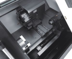 Siemens 828d CNC Lathe with Taiwan Linear Guideway Slant Bed Lathe Machine with Tailstock pictures & photos