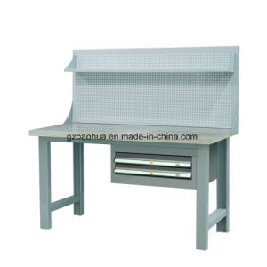 Stainless Steel Workbench with Pegboards and Drawer Fy-812sh pictures & photos