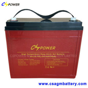 12V135ah Solar Power Gel Battery for Storage, Htl12-135 pictures & photos
